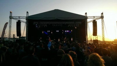 Festival and Event Outdoor Stage Hire South West Devon Cornwall