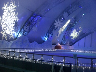 Eden Project Ice rink 2012
