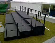 steeldeck stage hire South West